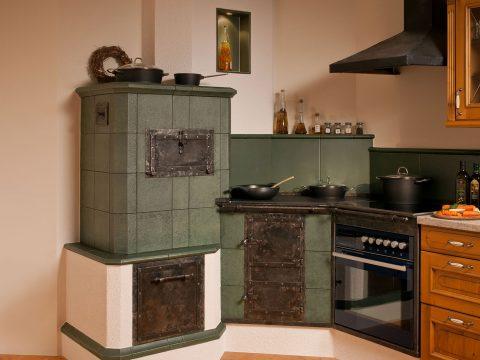 Klassischer Tischherd vom Ofensetzer Kletzenbauer aus Weiz